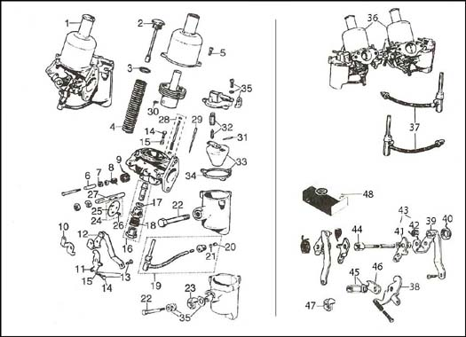 Diagram Su Hs2 Carburetor on mini cooper exhaust system diagram